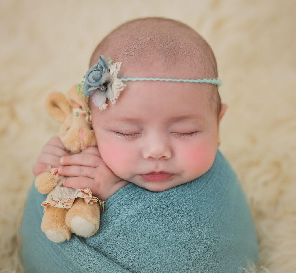 el bebe azul
